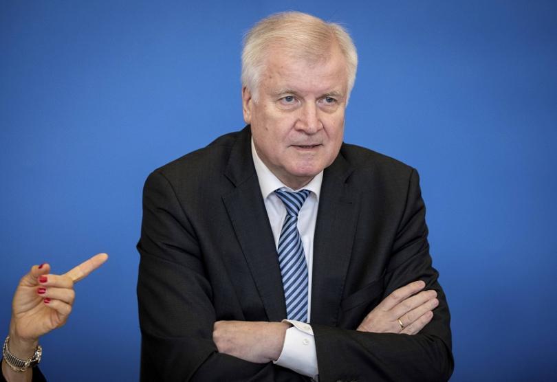 Хорст Зеехофер, министър на вътрешните работи на Германия