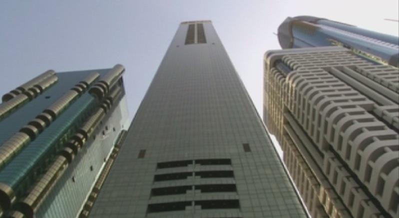След най-високата сграда в света - извисяващият се на 828