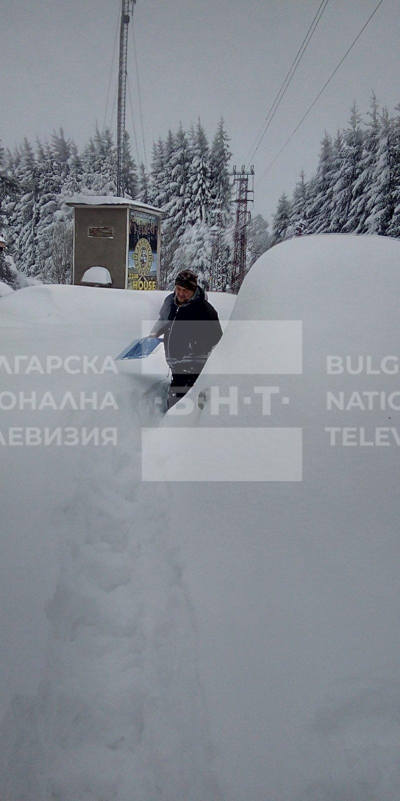снимка 6 15 души остават блокирани в снежните преспи над Перущица (СНИМКИ/ВИДЕО)