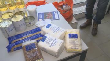 Хранителни запаси на БЧК стоят нераздадени