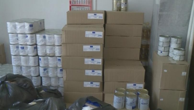 Българският червен кръст започна раздаването на хранителни продукти за най-нуждаещите