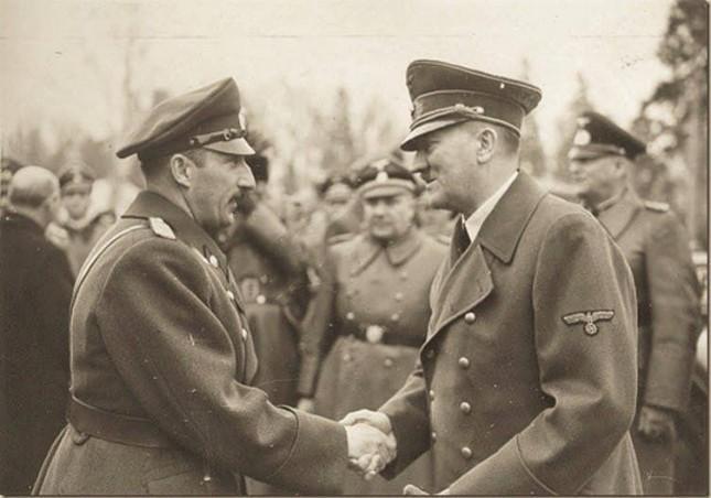 Адолф Хитлер и Цар Борис Трети в Берлин на 1 август 1936г.