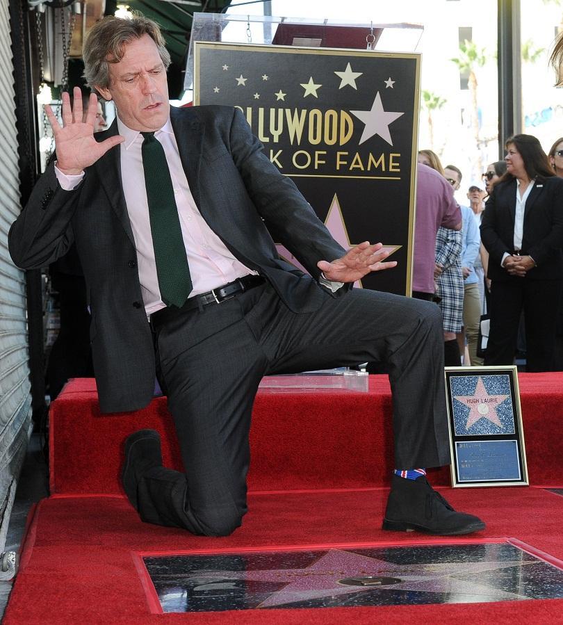 снимка 1 Хю Лори получи звезда на холивудската Алея на славата