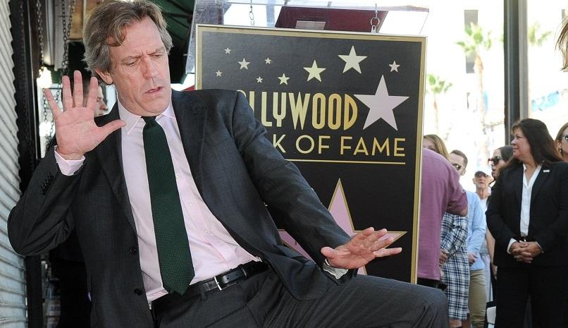 Хю Лори получи звезда на холивудската Алея на славата