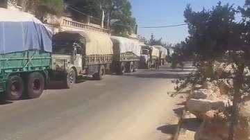 Обстрел срещу хуманитарен конвой в Сирия