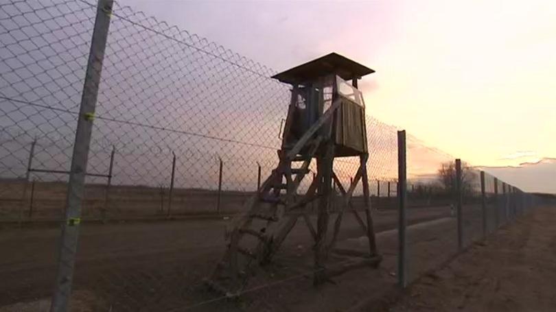 мигранти водени българин задържани румънско унгарската граница