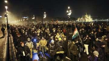 Антиправителствените протести в Унгария продължават