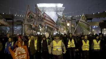 Поредна нощ на протести в Унгария