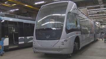 Първият автобус с водороден двигател тръгва в България през май