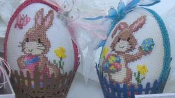 Бродирани яйца за Великден