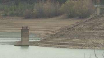 Ограничават ползването на вода от язовирите с обем под 50%