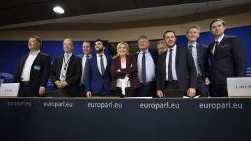 Първите нови групи в Европейския парламент вече са налице