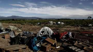 Лагерът в Идомени постепенно опустява