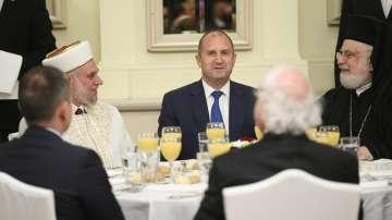 Президентът Радев беше домакин на вечерята Ифтар