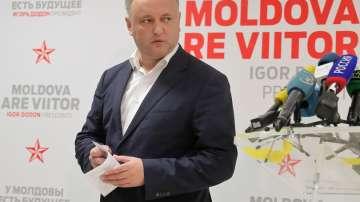 Проруският кандидат Игор Додон спечели изборите в Молдова