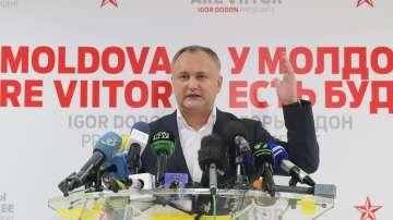 Проруският кандидат Игор Додон спечели президентските избори в Молдова