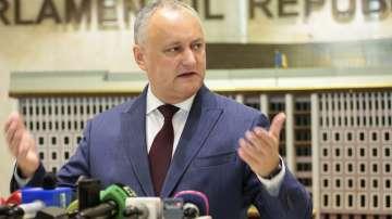 Президентът на Молдова заяви, че няма да подава оставка