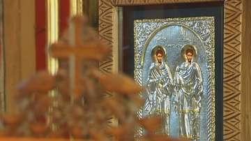 Манастирът в Куклен си върна чудотворна икона, изчезнала преди 15 години
