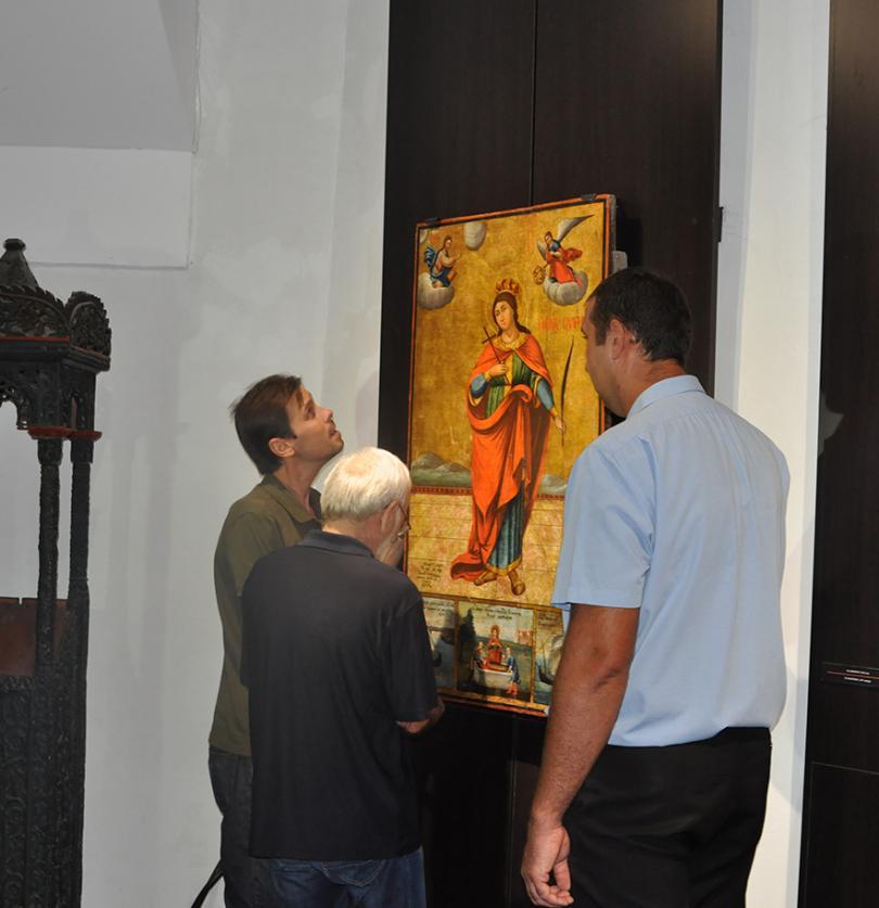 Четирите икони, които гостуваха на Третяковската галерия в Москва като
