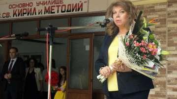 Вицепрезидентът Илияна Йотова беше гост на тържествата във Велики Преслав
