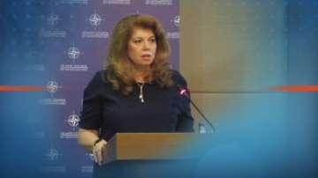 Вицепрезидентът Илияна Йотова е на посещение в Черна гора