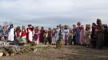 Боговете на виното слязоха от Пирин и благословиха лозята край Илинденци