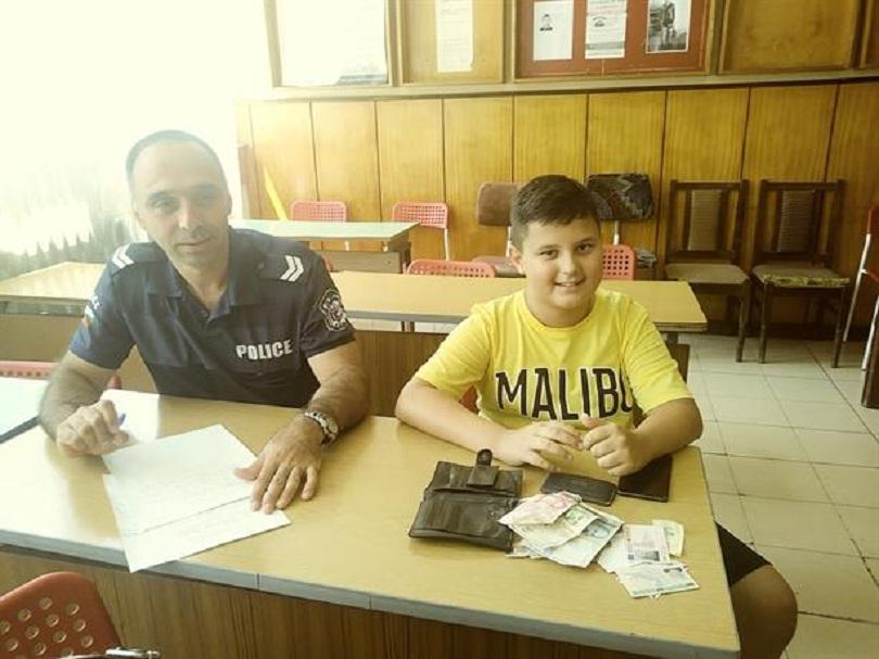 годишно дете намери върна портфейл 1205 пенсионер