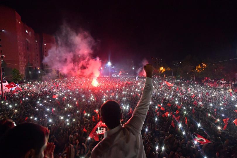 снимка 1 Екрем Имамоглу печели изборите за кмет на Истанбул