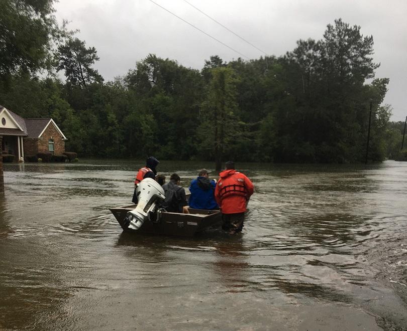 Снимка: Тропическата буря Имелда взе пет жертви