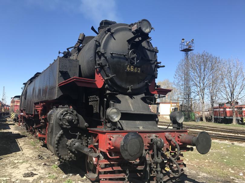 снимка 2 Най-мощният парен локомотив в Европа тръгва към Черепиш