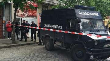 Блокада преди протеста на ЦСКА (СНИМКИ)