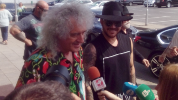 Queen и Адам Ламбърт вече са в България