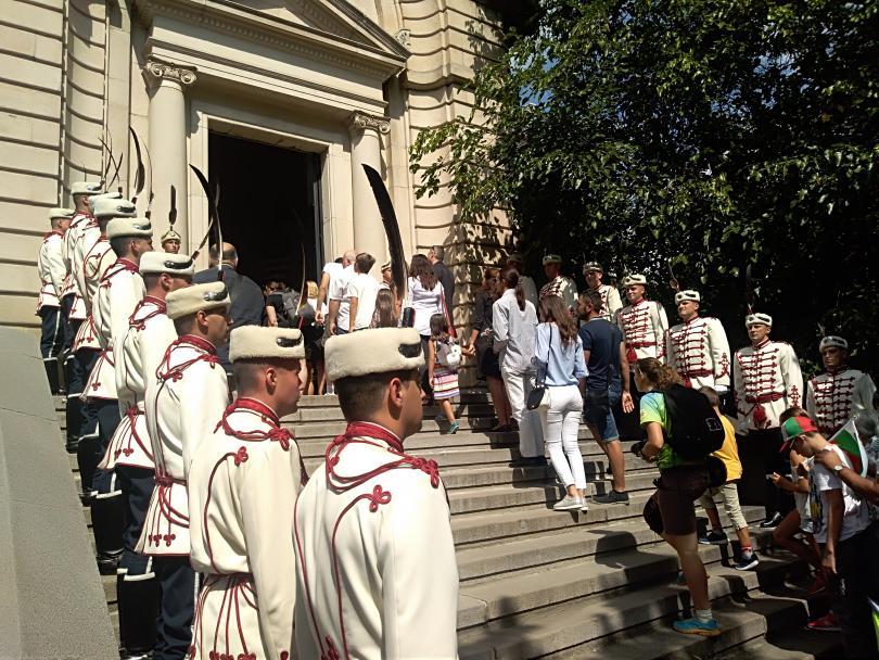 Празникът в София