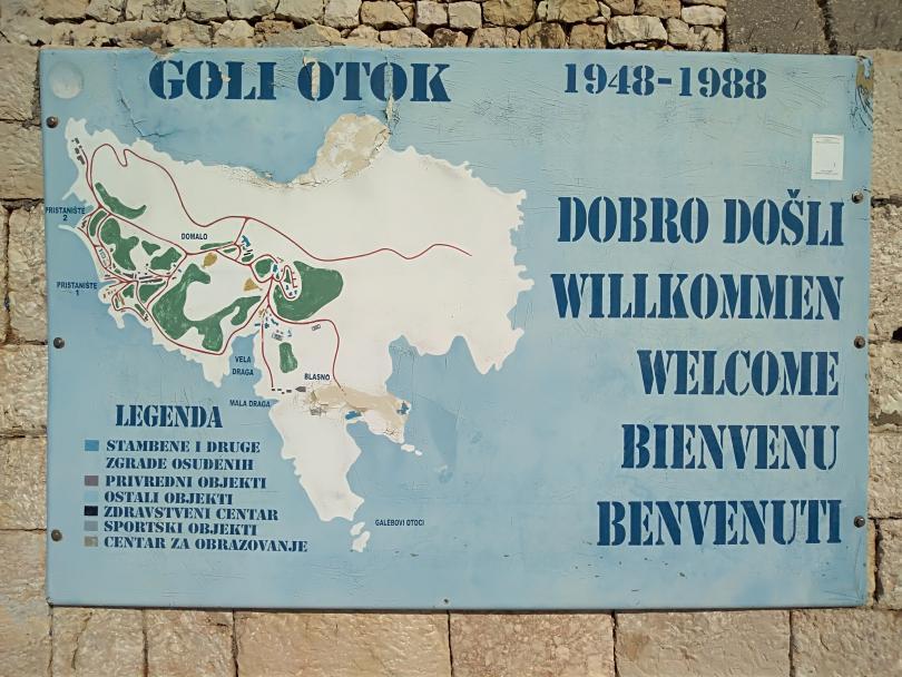 Голи оток – необитаемият остров, на който има хора