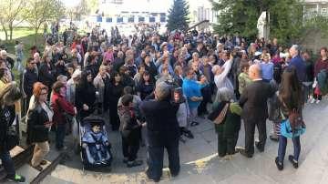 Протест срещу ръководството на 30-ти ДКЦ в София