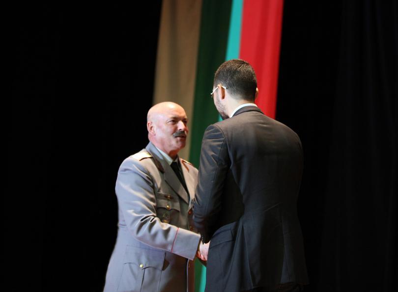 С тържествена церемония във Военната академия Георги Стойков Раковски беше