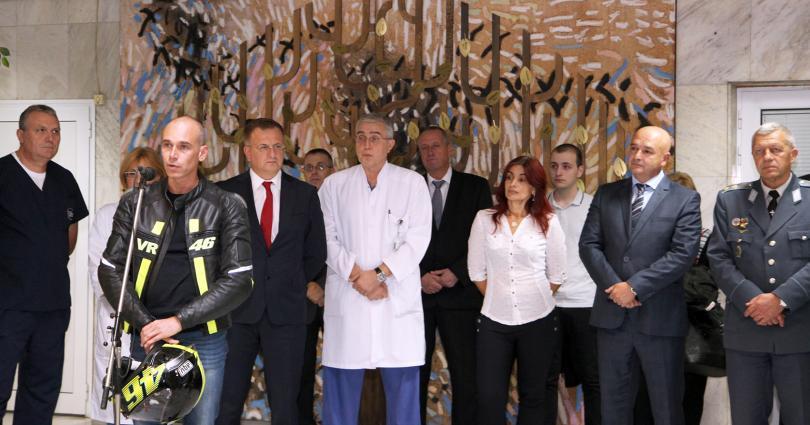 снимка 5 ВМА отбеляза Европейската седмица на донорството