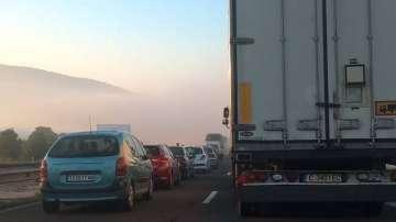 Тежка катастрофа затвори магистрала Тракия (СНИМКИ)