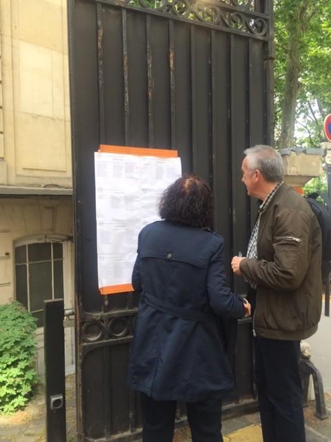 снимка 9 От наши зрители: Изборният процес в Париж протича нормално