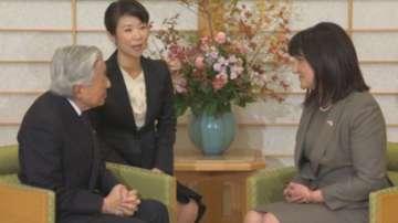 Председателят на НС Цвета Караянчева се срещна с японския император