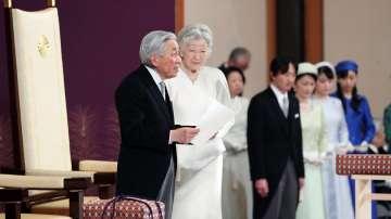 Японският император Акихито абдикира в полза на сина си