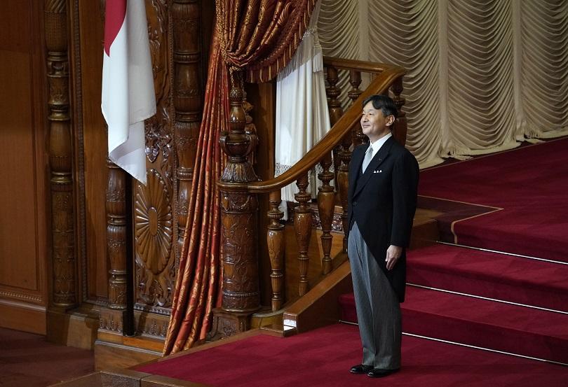 Снимка: Японският император Нарухито ще бъде коронован на 22 октомври
