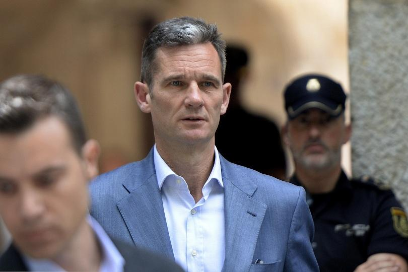 Зетят на испанския крал вече изтърпява близо 6-годишна ефективна присъда