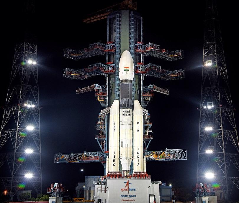 Снимка: Старт на индийската лунна мисия Чандраян-2