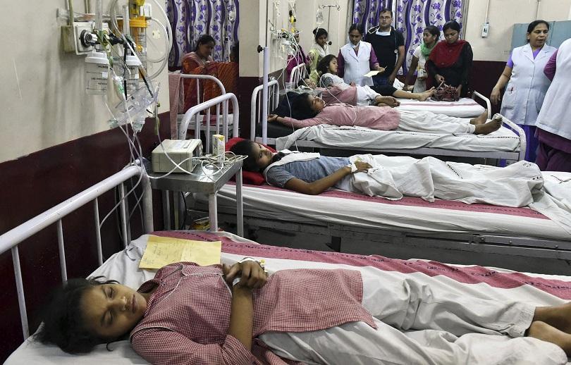 около 300 ученички пострадали изтичане газ делхи