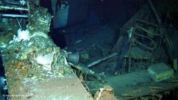 Откритият американски крайцер е доставял части от бомбата, хвърлена над Хирошима