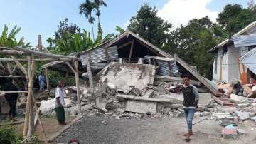 14 души загинаха при земетресението до индонезийския остров Ломбок