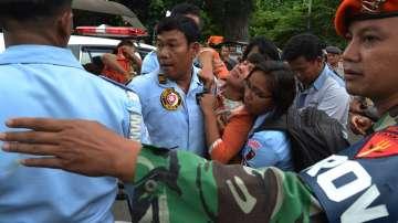 Мощен трус в Индонезия
