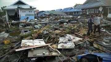 Броят на жертвите при земетресенията и вълните цунами в Индонезия надхвърли 400
