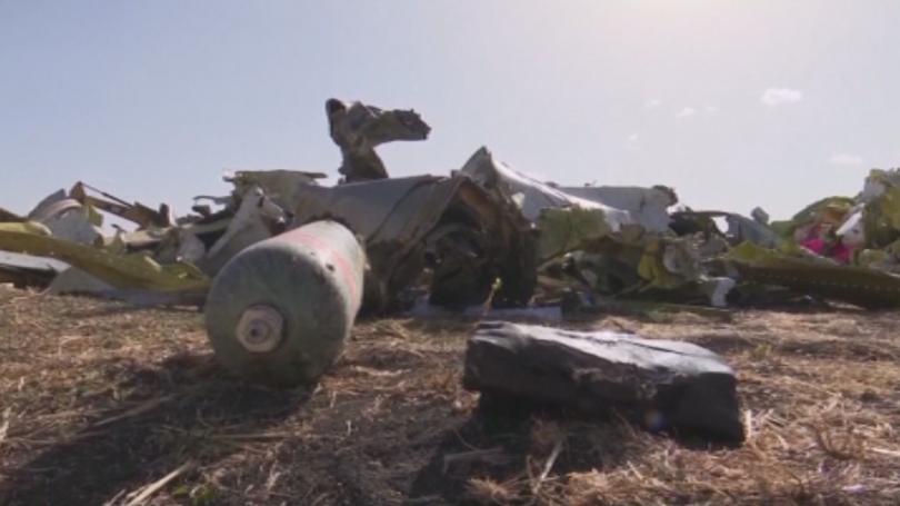 Семейства на жертвите на самолетната катастрофа с
